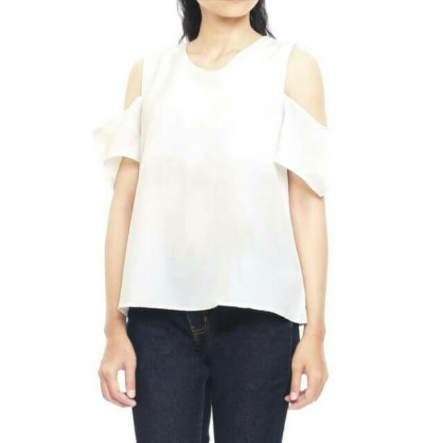 Berry Cut-out Top