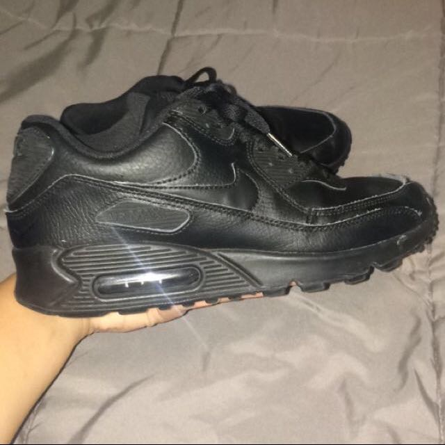 Black Air Maxes