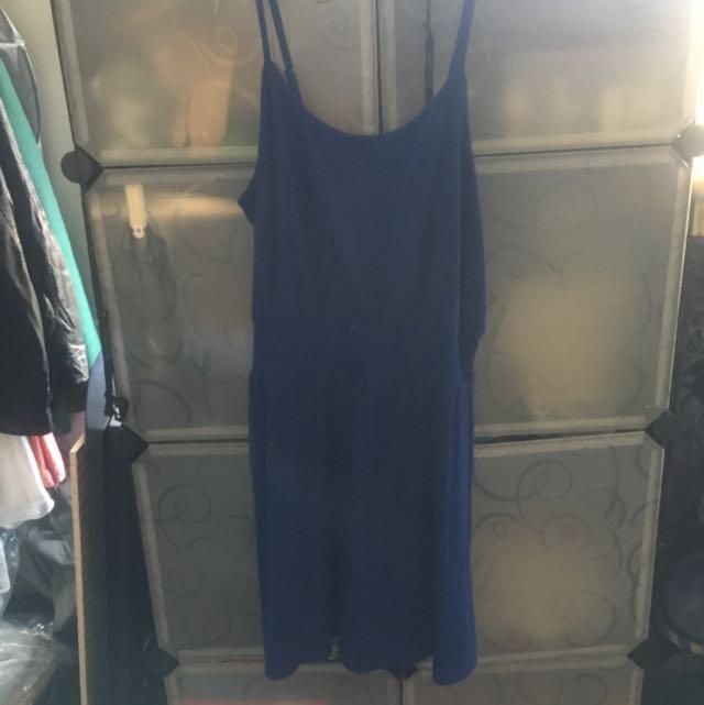Blue Never Worn Casual Dress