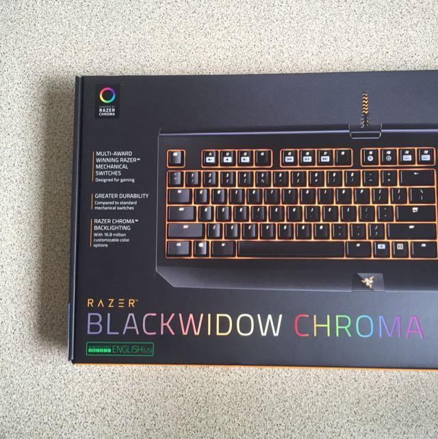 BNIP Razer BlackWidow Chroma Overwatch Edition, Electronics