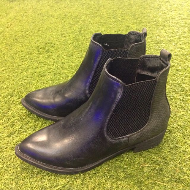 Boots - Black Ankle Boots