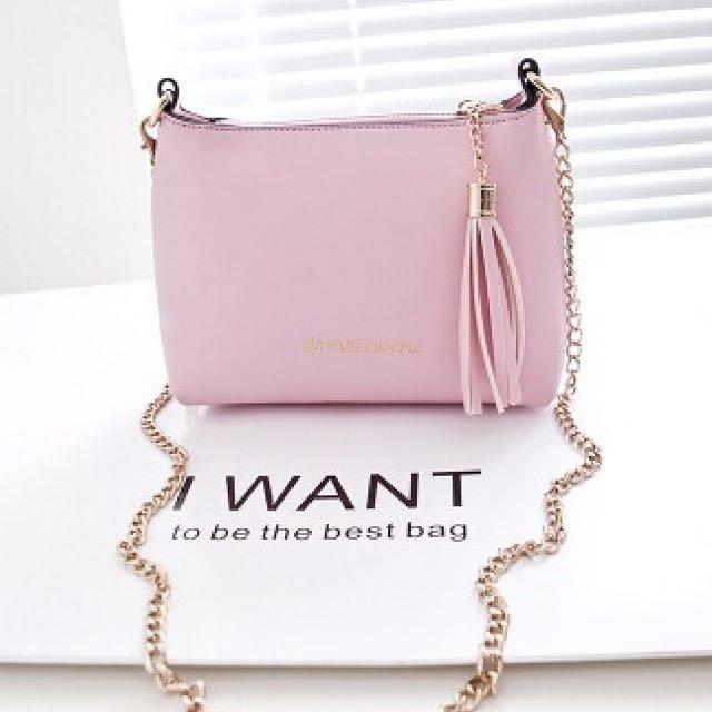 Cute Mini Women's Tassel Bag