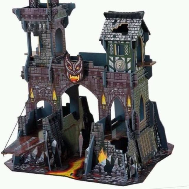 Elc Early Learning Centre Tower Of Doom Wooden Knights Castle Fort