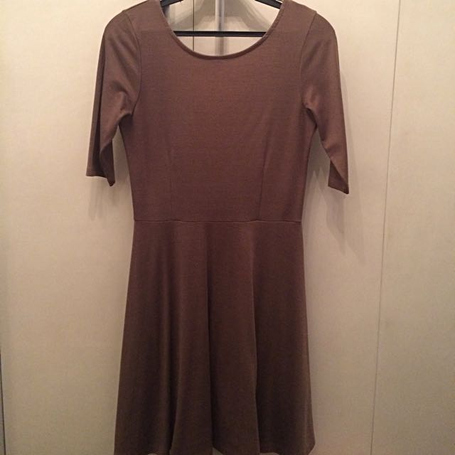 F21 Brown Dress