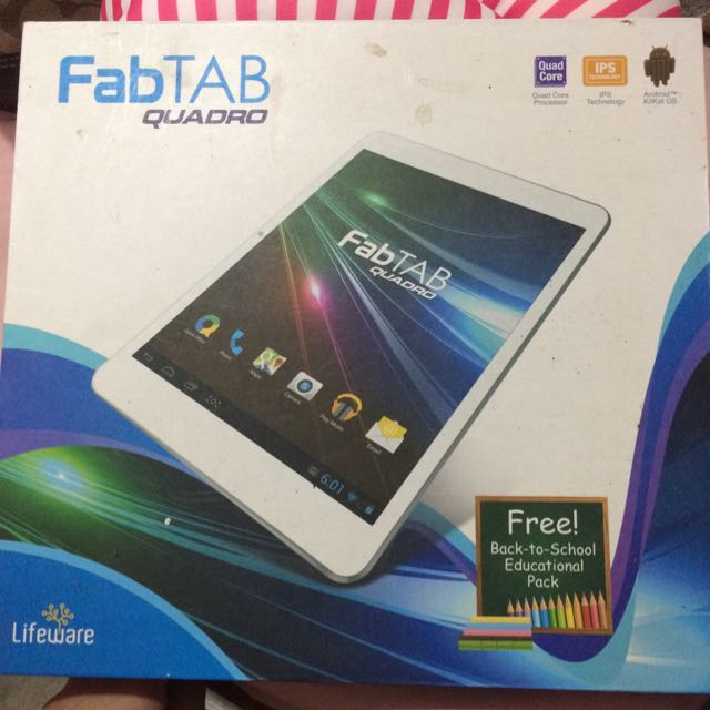 fabtab quadro by lifeware technology electronics computers u0026 tablets on carousell
