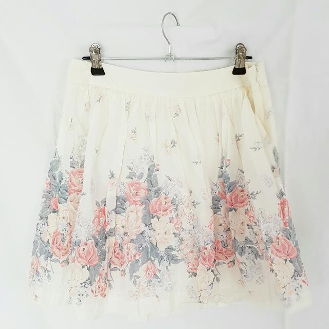 Floral Forever New Skirt