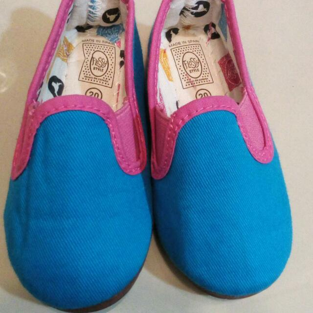 Floss size20 shoes for baby girl