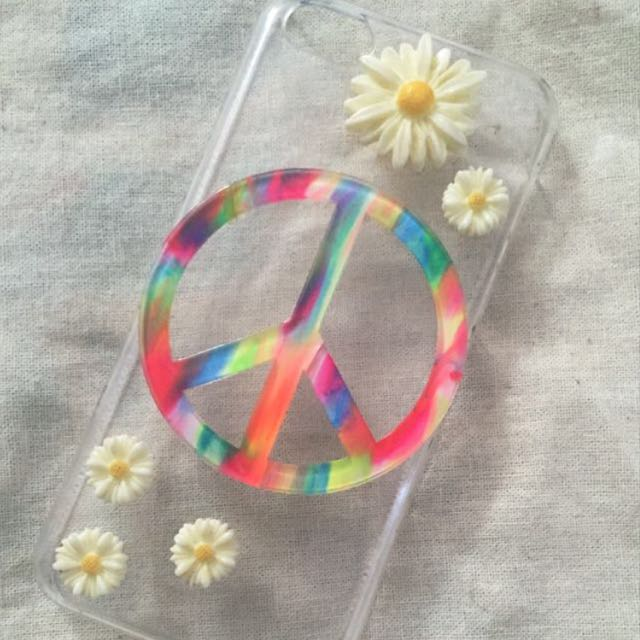 Hippie/Boho clear iPhone 5/5c Case!