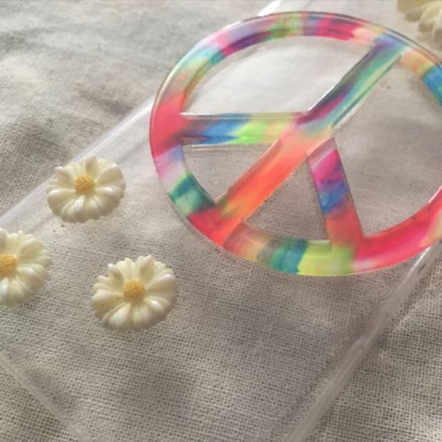 Hippie/Boho clear iPhone 5/5c Case!