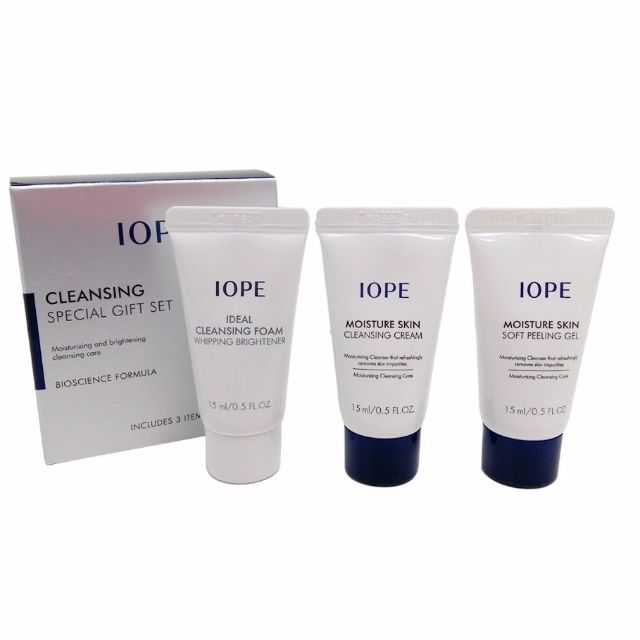 IOPE Cleansing Travel Set