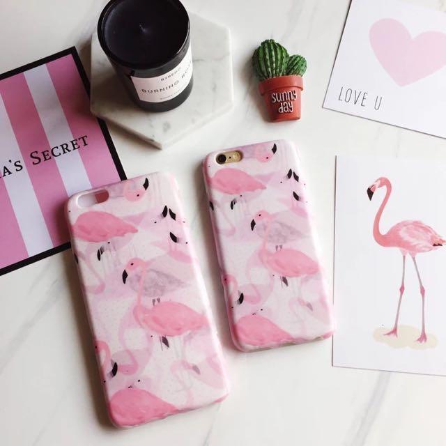 韓國紅鶴iphone6s plus 手機殼