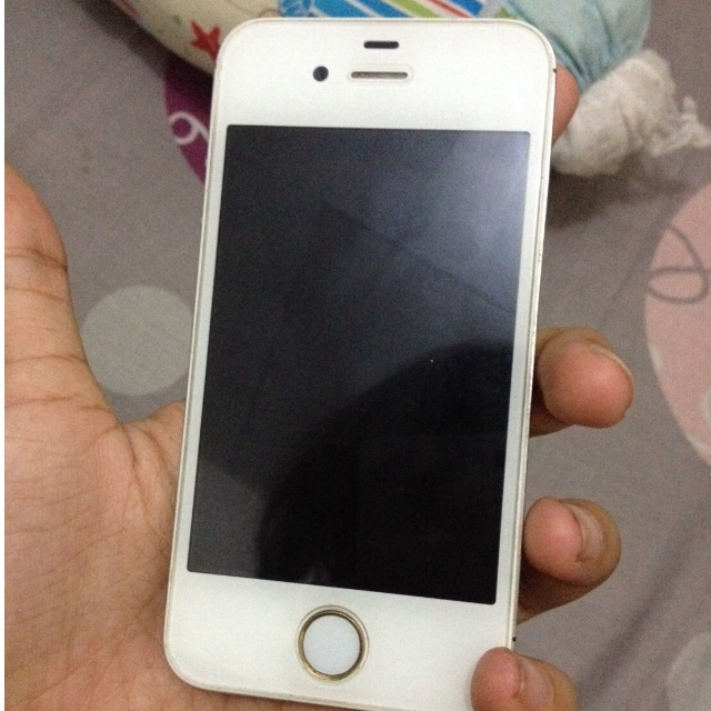 iPhone 4s white jual cepat