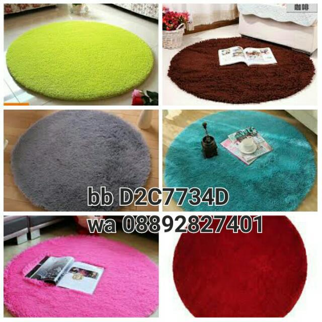 Karpet Bulat Diameter 100cm