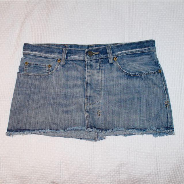 Ksubi Denim Skirt