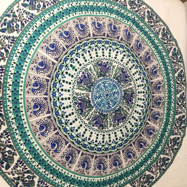 Mandala Throw Wall Hanging