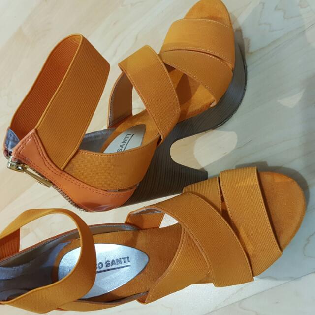 Marco Santi Orange High Heels