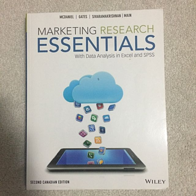 Marketing Research Essentials With Excel And SPSS