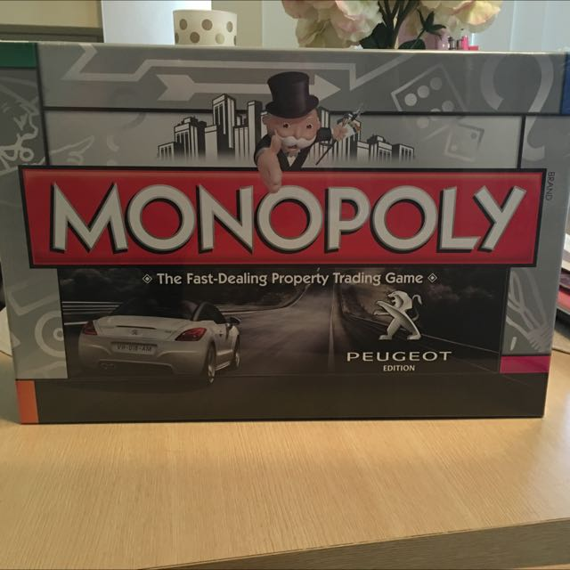 Monopoly board game, brand new!