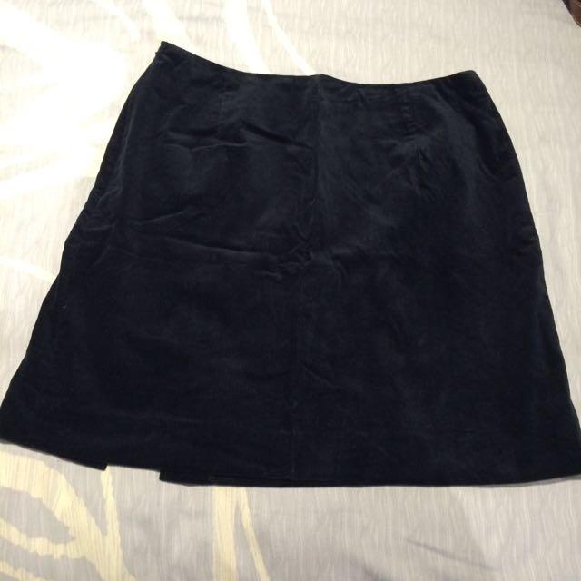 🎀Navy Skirt
