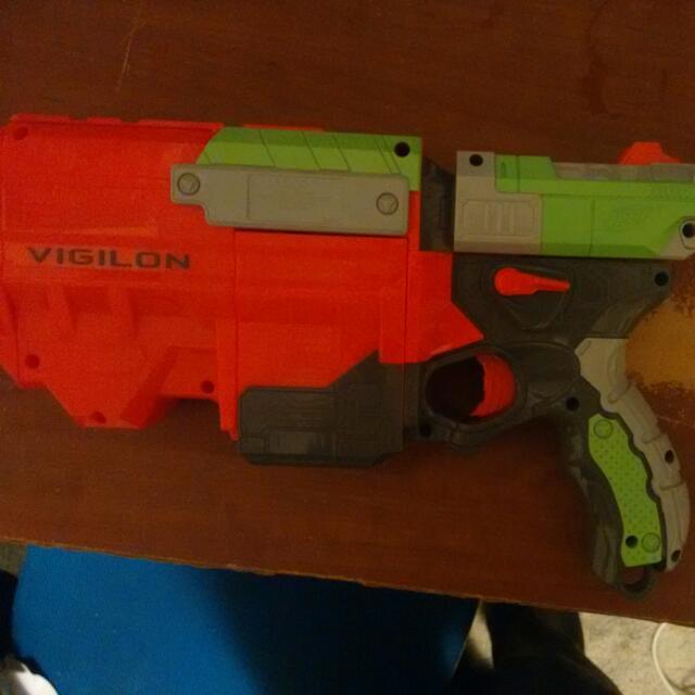Nerf Vigilon With 5 Bullet Discs