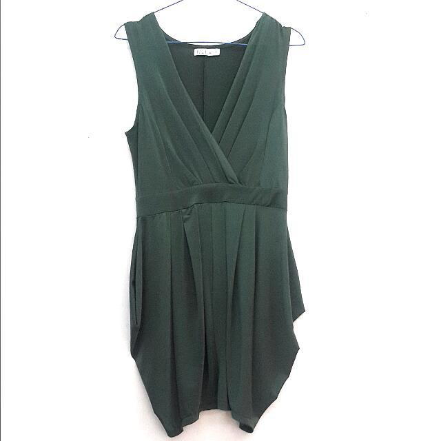 N.y.L.a Green Dress
