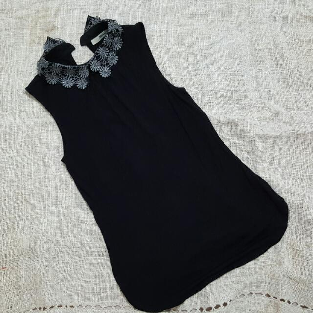 [Fixed Price]Oasis Blouse Hitam