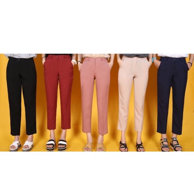 (PO) Marie Straight Cut Trousers