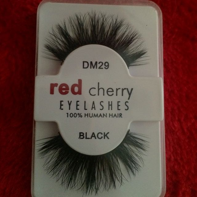 Red Cherry Lashes Dm29 Health Beauty Makeup On Carousell