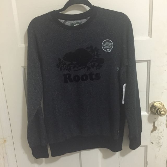 Roots Black Sweater