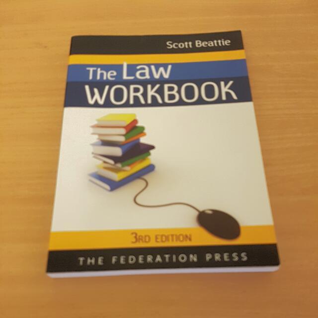 """Scott Beattie """"The Law Work Book"""""""