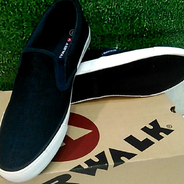 Sepatu Airwalk Original Ganon Slip On Navy dbb501dd11