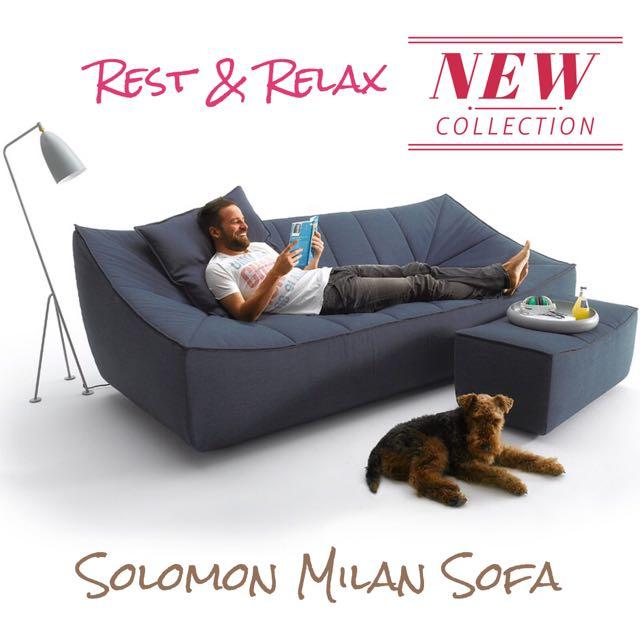 Solomon Milan European Inspired Sofa Furniture On Carousell
