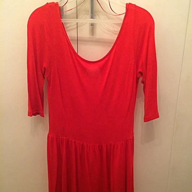 Stradivarius Red Dress