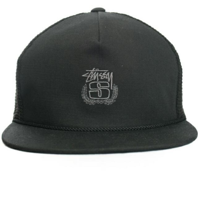 Stussy Cotton Mesh Snap-Back Hat 17539819f87