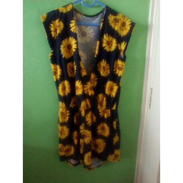 Sunflower Romper