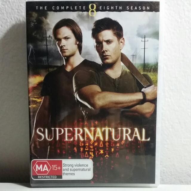 Supernatural The Complete 8th Season