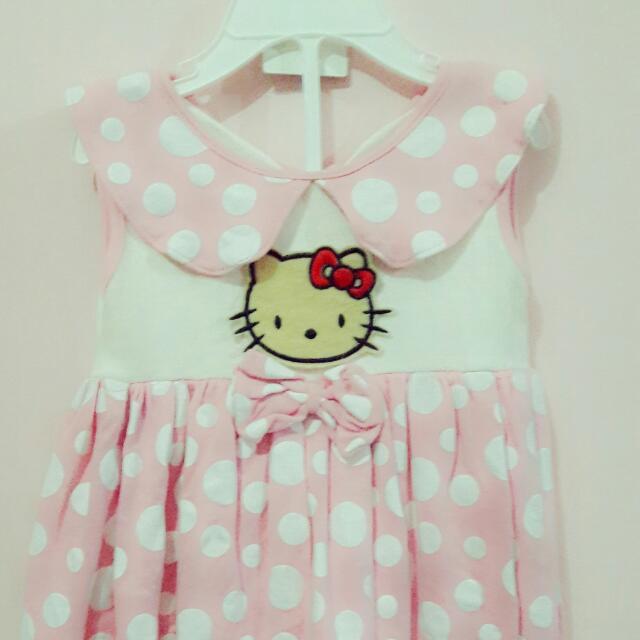 Terusan Balon Helo Kitty 6month -1 Year