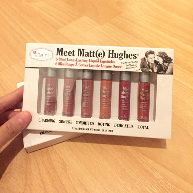 THE BALM MEET MATT(E) HUGHES MINI