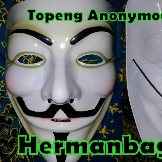 Topeng Anonymous V For Vandetta Everything Else On Carousell