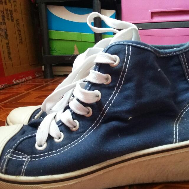 Wedge Converse Shoes Good as New 1Beses lang nagamit