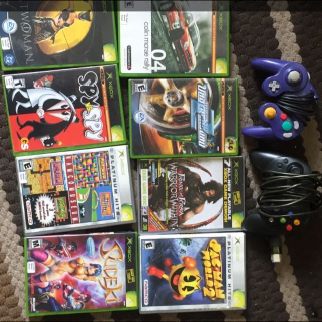 Xbox Games&controllers