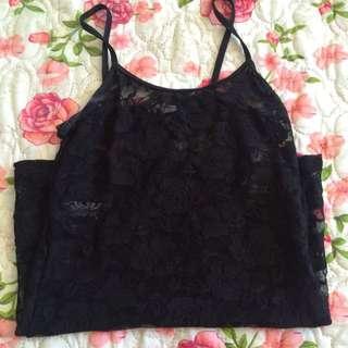 Suzy Shier Lace Top
