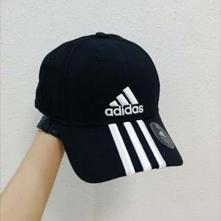(INSTOCK) Adidas Performance 3-Stripes Baseball Cap