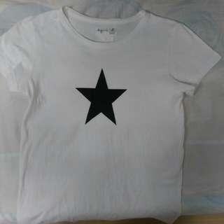 Agnes b 女生1號T恤