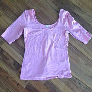 Fuzzy Pink Shirt!