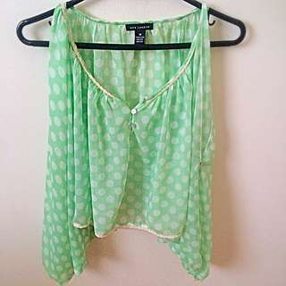 Light Green chiffon Shirt