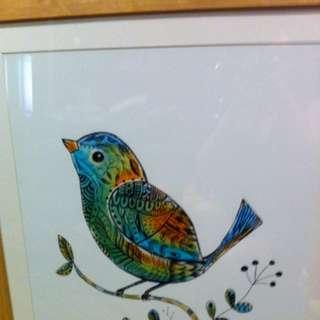 Bird Water Colour