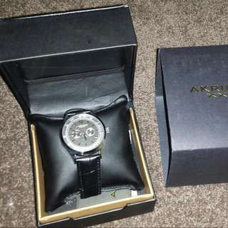 Akribos XXIV male watch