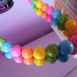 Bubble Gum Neck Lace