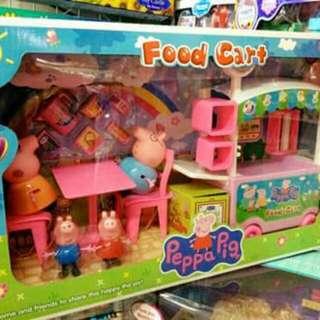 Peppa Pig Food Cart